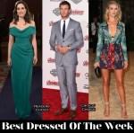 Best Dressed Of The Week - Celia Freijeiro In Vivienne Westwood, Rosie Huntington-Whiteley In Burberry Prorsum & Chris Hemsworth In Salvatore Ferragamo