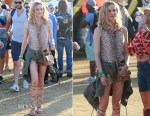 Diane Kruger In Equipment - Coachella Music Festival Weekend 2