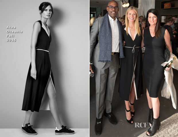 Gwyneth Paltrow In Atea Oceanie - Goop Pop-Up Store Launch Party