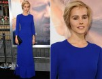 Isabel Lucas In Christian Dior - 'The Water Diviner' LA Premiere