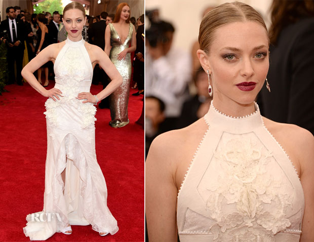 Amanda Seyfried In Givenchy Couture - 2015 Met Gala