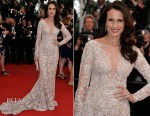 Andie MacDowell In Ralph & Russo Couture - 'The Sea Of Trees' Cannes Film Festival Premiere
