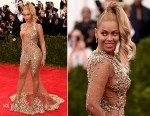 Beyonce Knowles In Givenchy Couture - 2015 Met Gala