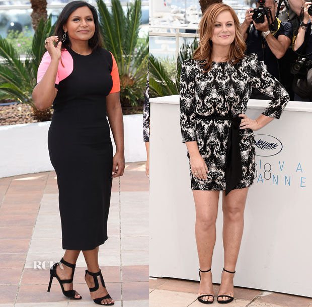 Mindy Kaling & Amy Poehler - 'Inside Out' Cannes Photocalls