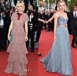 Sienna Miller In Gucci - 'Macbeth' Cannes Film Festival Premiere &  'La Glace Et Le Ciel' Cannes Film Festival Premiere & Closing Ceremony