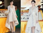 Fan Bingbing In Ashi Studio Couture -  'Yang Gui Fei' Press Conference