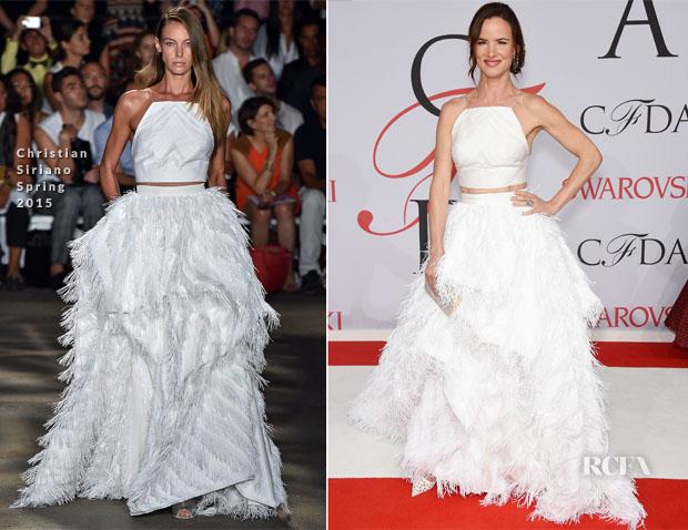 Juliette Lewis In Christian Siriano - 2015 CFDA Fashion Awards