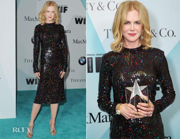 Nicole Kidman In Bottega Veneta - Women in Film 2015 Crystal + Lucy Awards