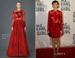 Olivia Cooke In Valentino - 'Me and Earl and the Dying Girl' Pittsburgh Premiere