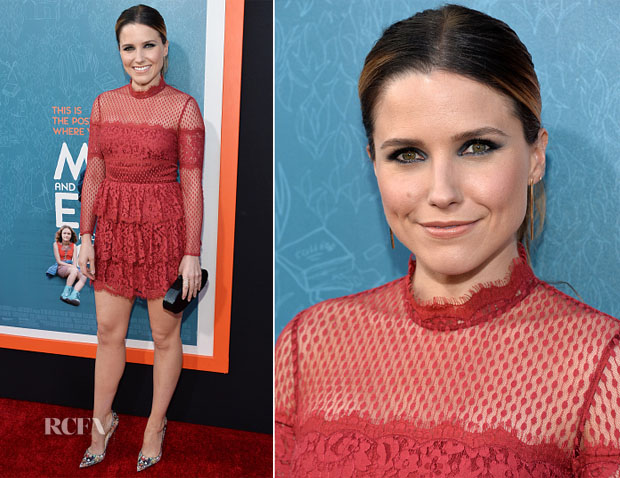 Sophia Bush In Temperley London -  'Me and Earl and the Dying Girl' LA Premiere