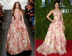Vanessa Hudgens In Naeem Khan - 2015 Tony Awards