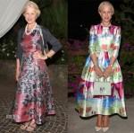Helen Mirren In L.K. Bennett & Dolce & Gabbana - 2015 Ischia Global Film & Music Fest