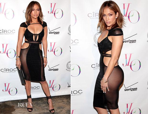 Jennifer Lopez In Bao Tranchi - 46th Birthday Celebration
