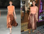 Solange Knowles In Barbara Casasola - Kiehl's Pioneers by Nature Program Launch
