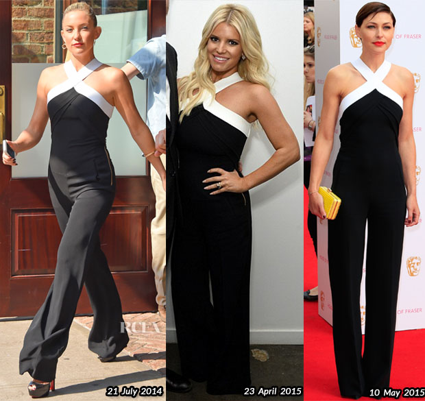 Who Wore Roland Mouret Better Kate Hudson, Jessica Simpson or Emma Willis