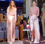 Who Wore Solace London...Jennifer Lopez or Kendall Jenner?