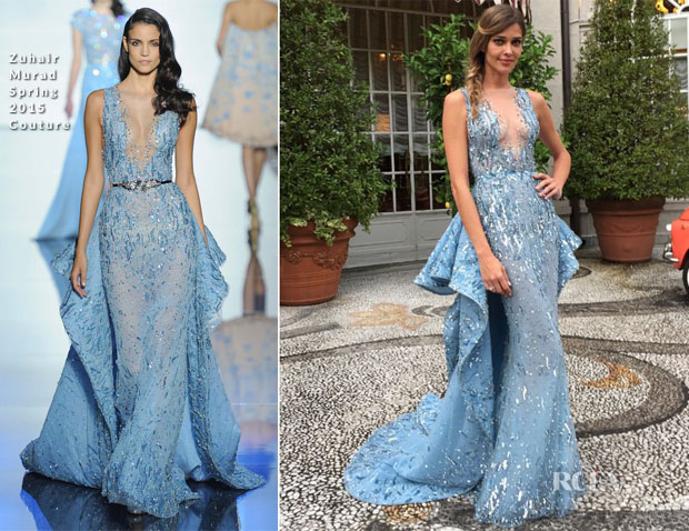 Ana Beatriz Barros In Zuhair Murad Couture Royal Wedding Of Beatrice Borromeo And Pierre Casiraghi Red Carpet Fashion Awards