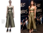 Emily Ratajkowski In Solace London - 'We Are Your Friends' Tour Stop Photocall And After Party