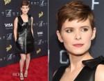 Kate Mara In Valentino - 'Fantastic Four' New York Premiere