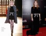 Julianne Moore In Saint Laurent - 'Freeheld' New York Premiere