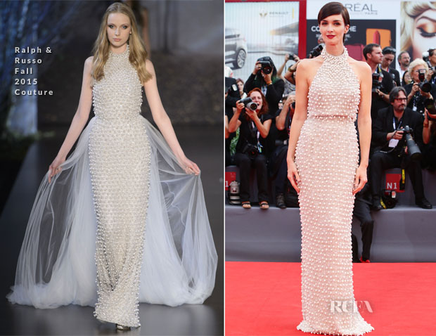 Paz Vega In Ralph & Russo Couture - 'Everest' Venice Film Festival Premiere & Opening Ceremony