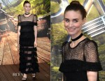 Rooney Mara In Givenchy Couture - 'Pan' World Premiere