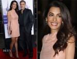 Amal Clooney In Roland Mouret - 'Our Brand Is Crisis' LA Premiere