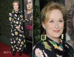 Meryl Streep In Marni - 'Suffragette' LA Premiere