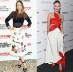 Olivia Wilde In Dolce & Gabbana & Rosie Assoulin - 23rd Annual Hamptons Film Festival & 'Meadowland' New York Premiere