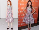Rachel Bilson In Jonathan Saunders - No Kid Hungry Benefit Dinner