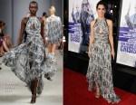Sandra Bullock In J. Mendel - 'Our Brand Is Crisis' LA Premiere