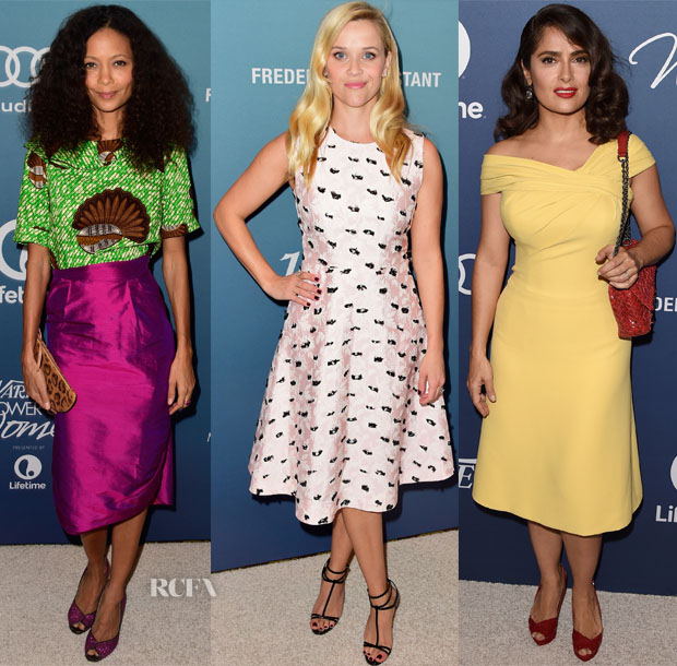 Variety's Power Of Women Luncheon Red Carpet Roundup