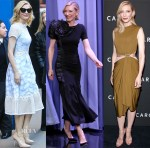 Cate Blanchett In Jonathan Simkhai,  Antonio Marras & Lanvin - Good Morning America, The Tonight Show Starring Jimmy Fallon & 'Carol' New York Premiere