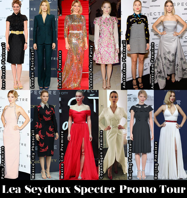 Which Was Your Favourite Lea Seydoux 'Spectre' Promo Tour Look 2