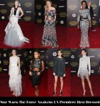 Who Was Your Best Dressed At The 'Star Wars: The Force Awakens' LA Premiere?