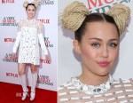 Miley Cyrus In Prada - 'A Very Murray Christmas New York Premiere