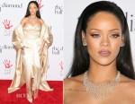 Rihanna In Christian Dior Couture - The Clara Lionel Foundation 2nd Annual Diamond Ball