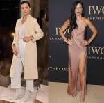 Adriana Lima In Alexander Wang, Joie, Francesco Scognamiglio & Cushnie et Ochs - Da Vinci Collection by IWC Schaffhausen Launch