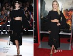 Ali Larter In Christian Siriano - 'Resident Evil: The Final Chapter' LA Premiere