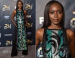 Anna Diop In ASOS & Elisabetta Franchi - '24: LEGACY' Premiere Event