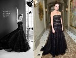 Camilla Belle In Carolina Herrera - PSLA Partners With Carolina Herrera For Winter Gala