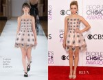 Peyton List In Yanina Couture - 2017 People's Choice Awards
