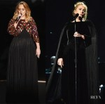 Adele In Givenchy Couture by Riccardo Tisci - 2017 Grammy Performances