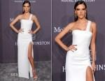 Alessandra Ambrosio In Versace - amfAR New York Gala