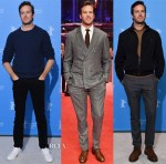 Armie Hammer In Todd Snyder, Brunello Cucinelli & Burberry - 'Final Portrait', 'Call Me by Your Name' Berlin Film Festival Photocalls & Premiere