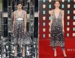 Emma Stone In Chanel Couture - 2017 BAFTAs