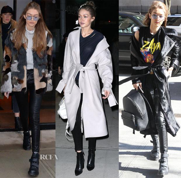 Gigi Hadids Off Duty Style Red Carpet Fashion Awards