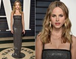 Halston Sage In Michael Kors Collection - 2017 Vanity Fair Oscar Party