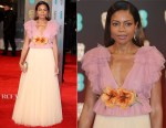 Naomie Harris In Gucci - 2017 BAFTAs