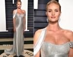 Rosie Huntington-Whiteley In Atelier Versace - 2017 Vanity Fair Oscar Party